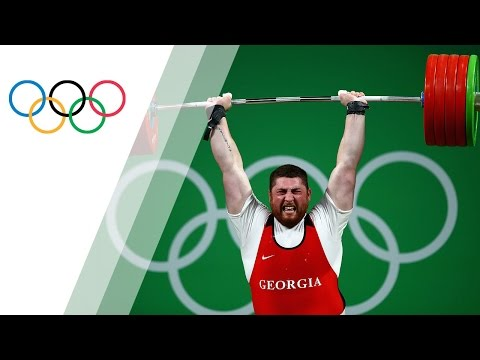 Talakhadze wins gold in Men's +105kg Weightlifting