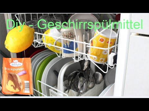 Geniale Idee - Natürliches Bio Geschirrspülmittel - Great idea Natural Organic Dishwashing