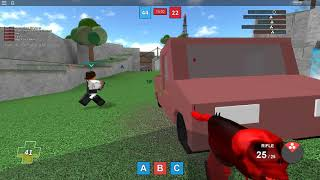 I play a little Roblox | Paintball Type | With Slayer