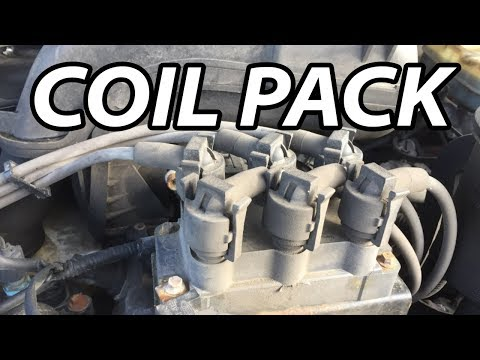 DIY How To Remove Replace Coil Pack (1991-2011 Ford Explorer or Ranger V6)