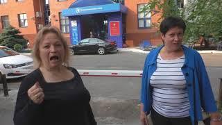 Краснодар. Бездельники из федеральной налоговой службы паркуются на тротуаре
