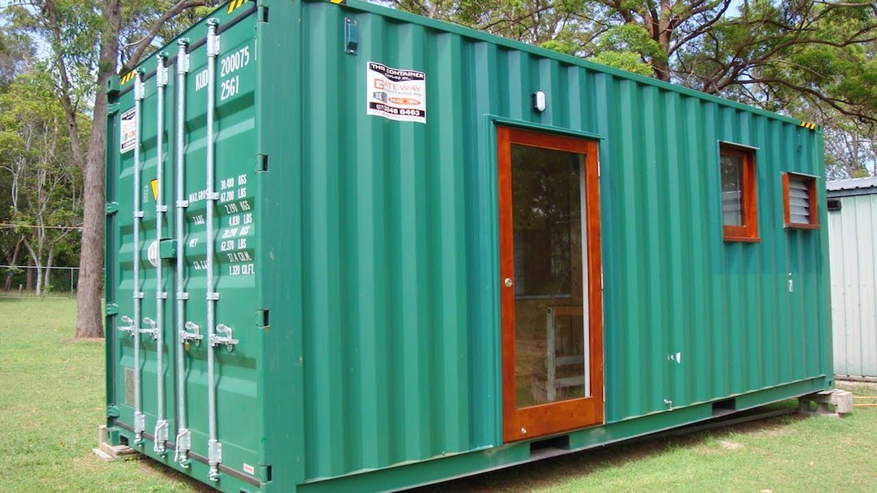 Queensland 20 Container House Lovely Tiny House Youtube