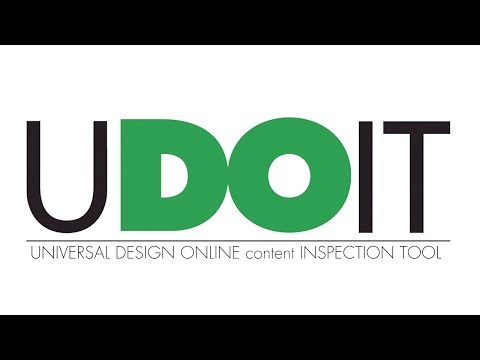 Introducing UDOIT