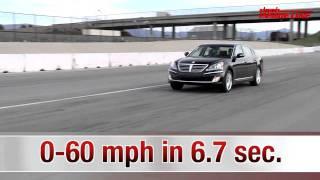 2011 Hyundai Equus Track Testing Edmunds Inside Line