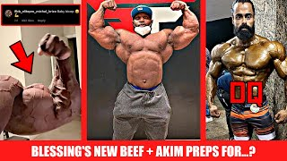 Akim is Prepping + Blessing VS Michal Krizo + Men's Physique Athlete Disqualified for being Too Big