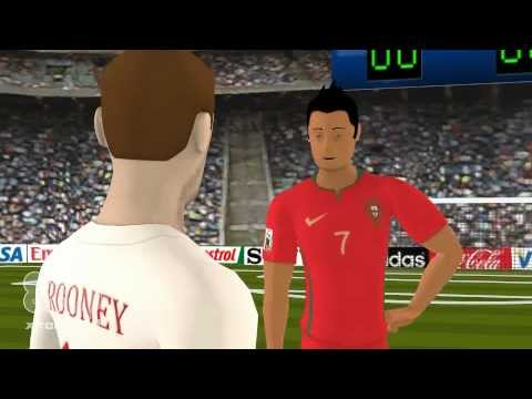 Happy Fun Time With Rooney And Ronaldo