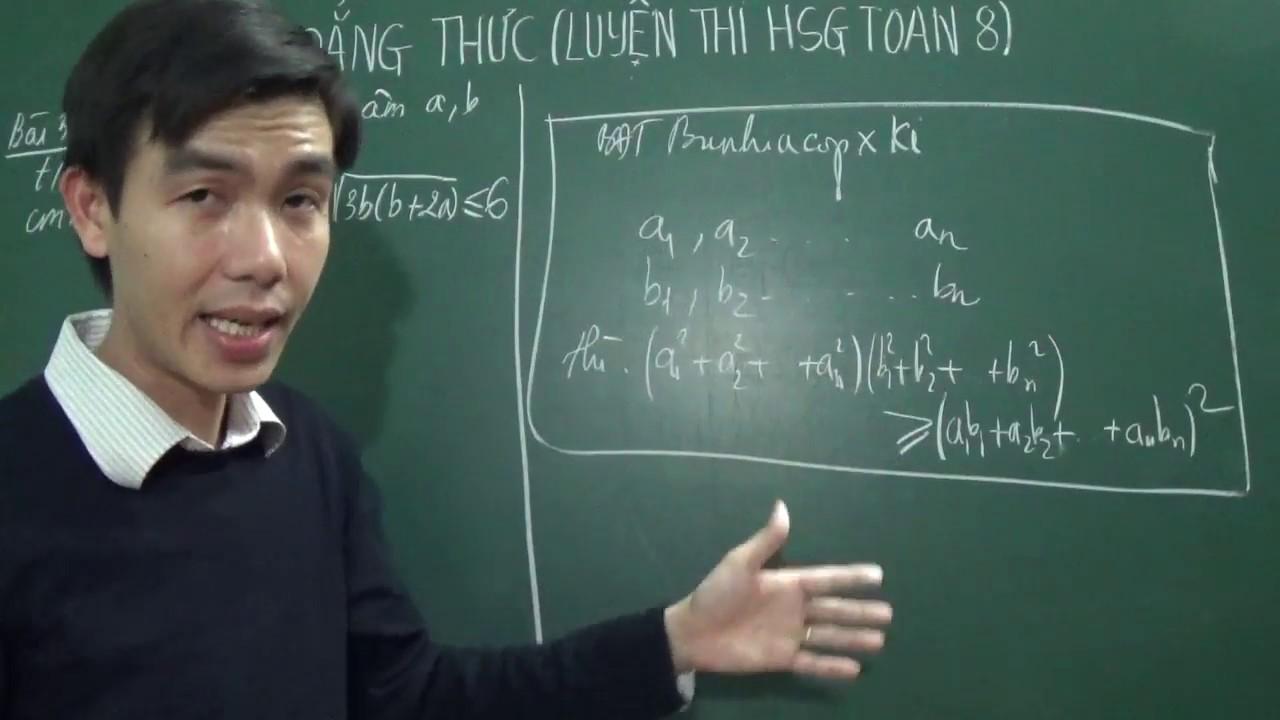 [Toán 8] - Bất đẳng thức (luyện thi HSG - bài 4 + bài 5)