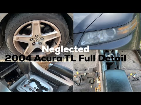 Full Vehicle Detail/ NEGLECTED 2004 Acura TL