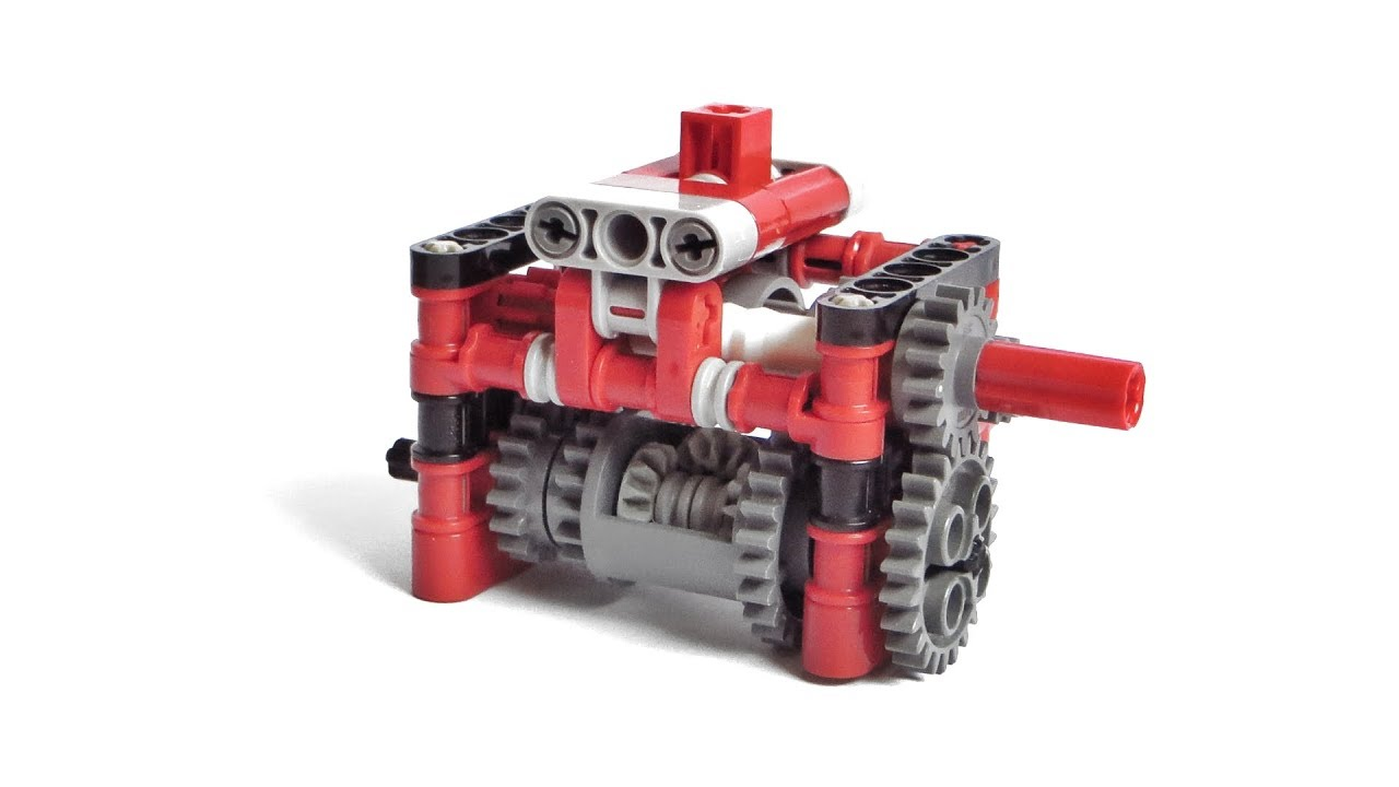 Lego Technic Differential 3 Speed Gearbox Instructions Lego
