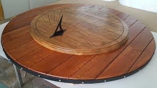 Элитные солнечные часы из дубового массива для парка(Компания Новая идея работает в области разработки и изготовления различного рода визуальной рекламы (нару..., 2016-08-22T19:37:48.000Z)