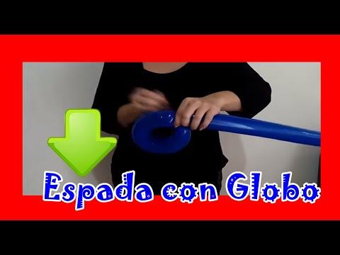Figuras con globos espada facil balloon figures youtube - Como hacer figuras con chuches ...