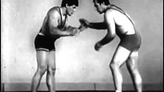 Вольная борьба. Техника переводов и сваливаний (СССР, 1981)