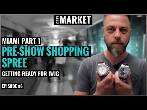 GREY MARKET #6: We Go On a Pre-IWJG Shopping Spree! Miami Part 1