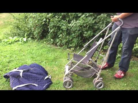 How To Remove And Wash The Textiles On A Maclaren Techno