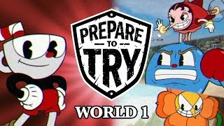 Prepare To Try Cuphead - World 1