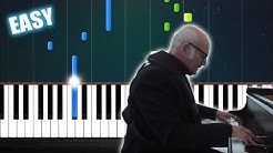 Ludovico Einaudi - Nuvole Bianche - EASY Piano Tutorial by PlutaX