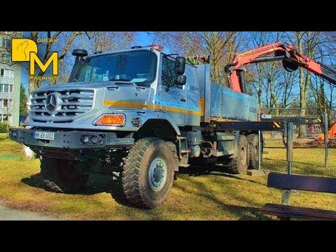 mercedes zetros 6x6 offroad truck bohrger t supertruck. Black Bedroom Furniture Sets. Home Design Ideas