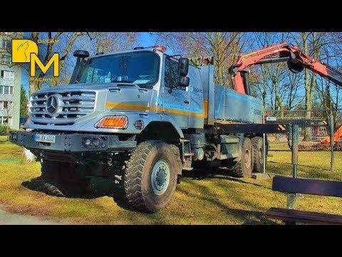mercedes zetros 6x6 offroad truck bohrger t supertruck. Black Bedroom Furniture Sets. Home Design Ideas