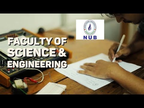 Faculty of Science and Engineering ।।  Northern University Bangladesh  ।। NUB Lovers