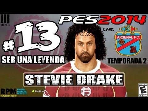 #13 | Ser Leyenda - Steve Drake | PES 2014 vs Arsenal Sarandí