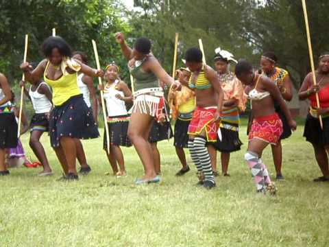 Zulu batrothal party
