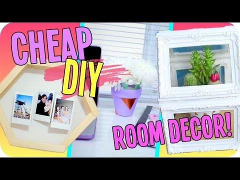 DIY Spring Room Decor! Cheap & Easy!