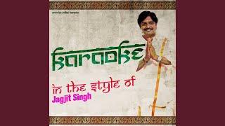 Chitthi Na Koi Sandesh (Karaoke Version)