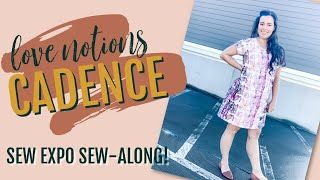 Love Notions' Cadence Top Sew-Along  |  Take My Sew Expo Class!