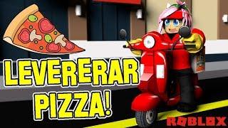 les œuvres comme un livreur de pizza! 🍕 Roblox suédois