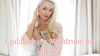 CLOSET TOUR! 🌸 Updating my Wardrobe for Spring - Outfit Building & Shoe Haul! 🌸 Fashion Mumblr AD