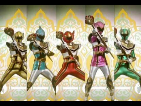 Power Ranger Mystic Force | Transformación en Modo Legendario