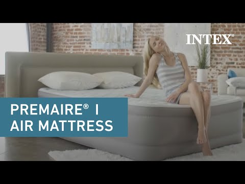 Intex PremAire® Airbed with Fiber-Tech™ Technology