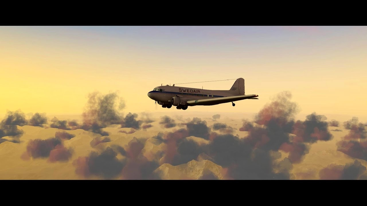 Winter in Norway – LES DC-3 Narvik to Tromsö X-Plane 11