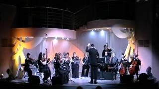 И. С. Бах. Концерт для клавира с оркестром Ля мажор в 3-х частях(камерный оркестр