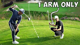 Golfing With Only 1 Arm - Challenge