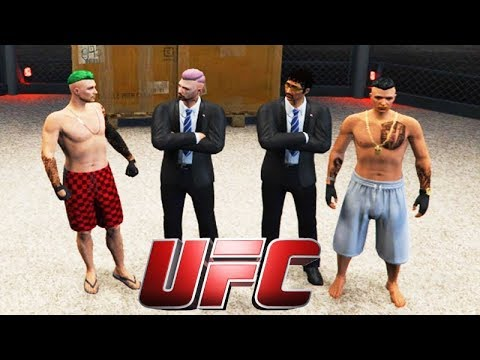 GTA V: BRASIL ROLEPLAY - O GRANDE UFC COMBATE!!! ( A LUTA ) #100 Pt 02