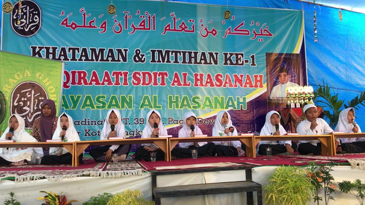 Khotmil Quran Dan Imtihan Qiraati Sdit Al Hasanah H