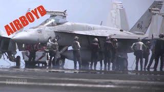 Flight Deck Operations USS George H.W. Bush (CVN-77)