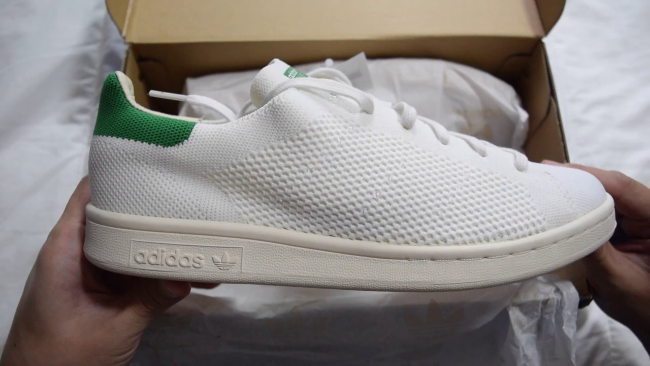 Adidas Stan Smith OG PK (White/Green/Chalk White) Unboxing