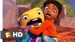 Home (2015) - Eiffel Tower Chase Scene (5/10) | Movieclips