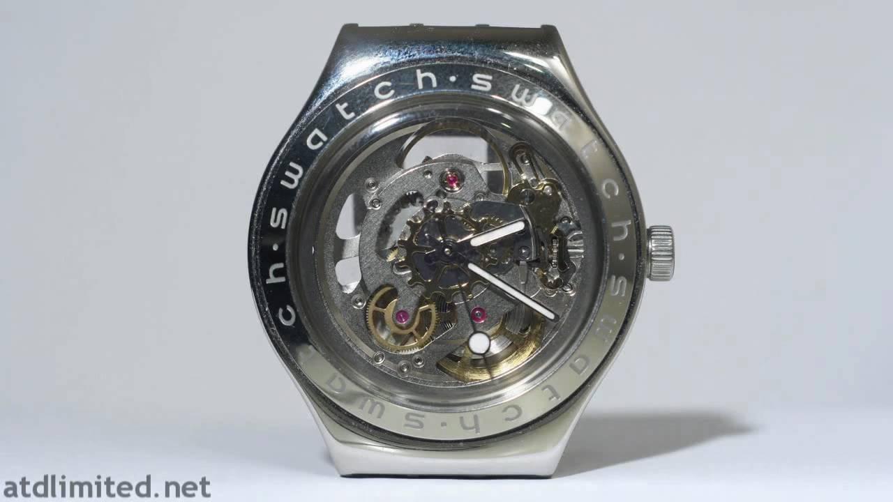 Swatch Irony Automatic Skeleton Watch Timelapse Hd Youtube