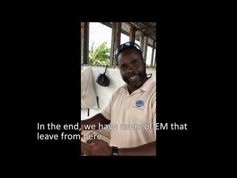 Vocational Program using EM in Belize Central Prison