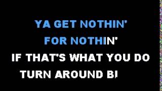 Guns N' Roses It's So Easy (Karaoke)