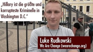 Luke Rudkowski im Interview (Bilderberger Konferenz, Clinton, Sanders, Trump, US Wahlen)