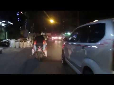 Jakarta's street at Night