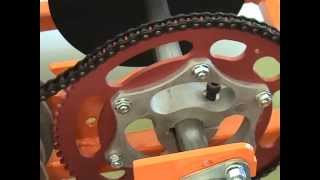 Adding A Locking Key To A Bar Stool Racer Sprocket & Hub By Www.barstoolracerplans.com