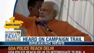 Narendra Modi at Mandsaur, Madhya Pradesh rally - News X