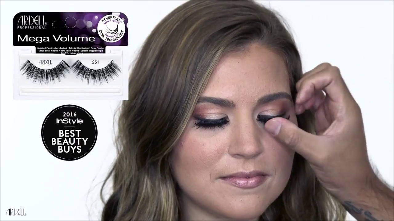 c6050032f14 Ardell Lashes Mega Volume 251 - The Perfect Fall Makeup Tutorial ...