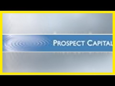 Breaking News | Prospect Capital Purchases $80 Million of First Lien Senior Secured Floating Rate N