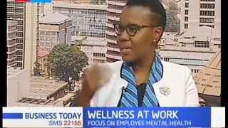 Lena Sumuni, GM HR and Administration Interview on KTN News on Wellness in the Workplace